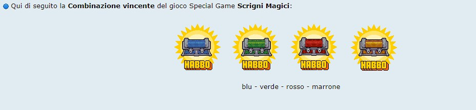 [SPECIAL GAME] Esito: Scrigni Magici! Scrign10