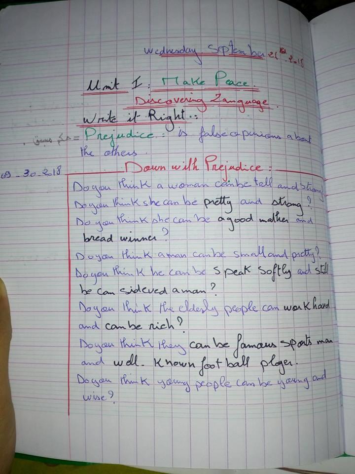 حل write it out صفحة41 0313