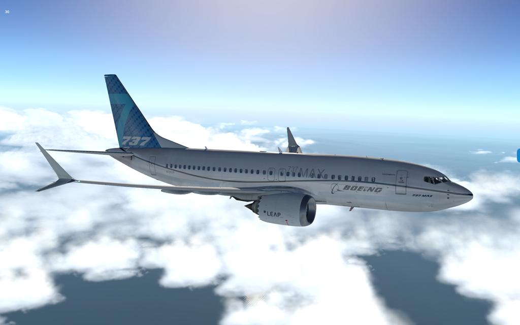 Uma imagem (X-Plane) B37m--10