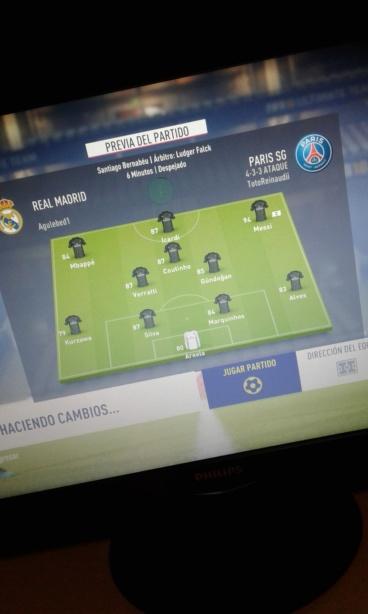 [FECHA 2] Real Madrid - PSG 20180817