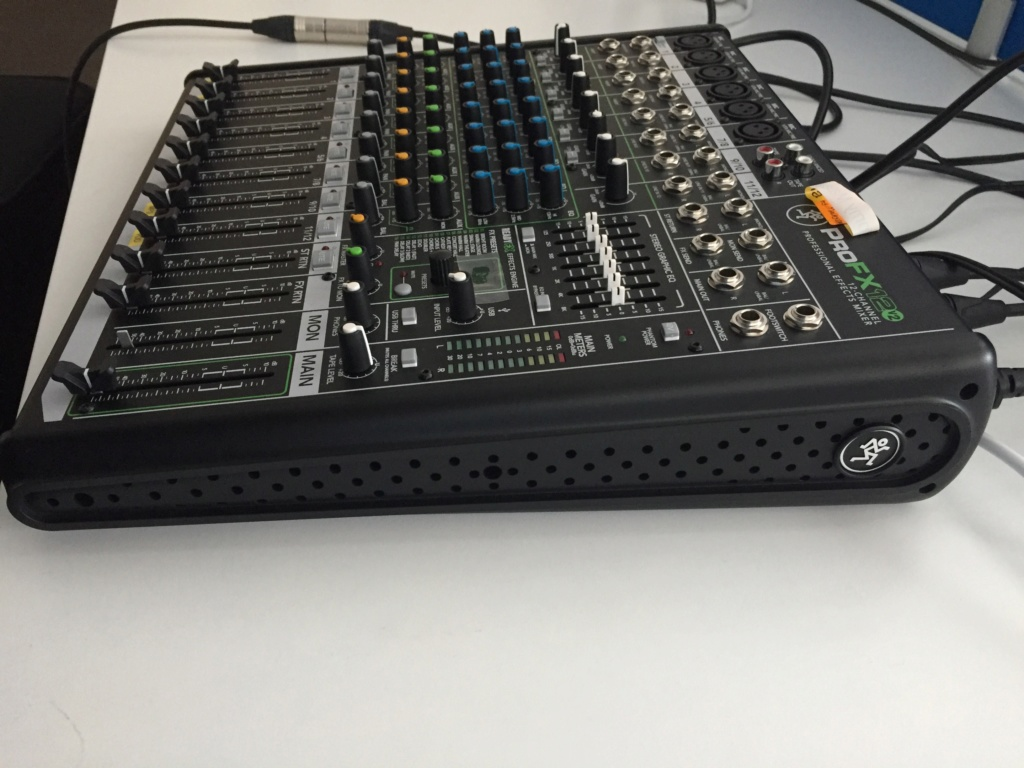 Mackie Pro FX12 V2 mixer (Used) Side_v10