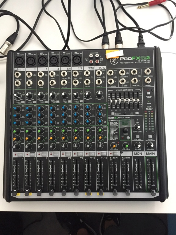 Mackie Pro FX12 V2 mixer (Used) Top_vi10