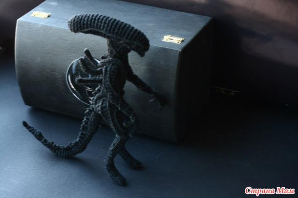 aide patron xenomorphe en crochet Alien_10
