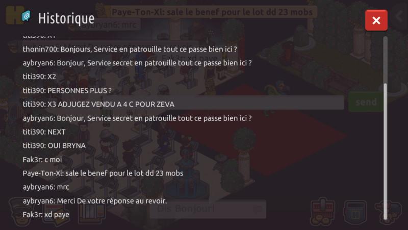 RAPPORT DE PATROUILLE 15345910