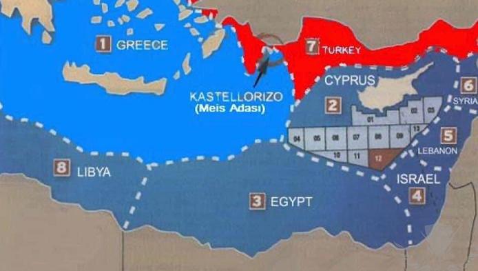 انتهى الدرس يا غبى ,الأمم المتحدة تنشر اتفاقية ترسيم الحدود البحرية بين مصر واليونان ,,, 2310
