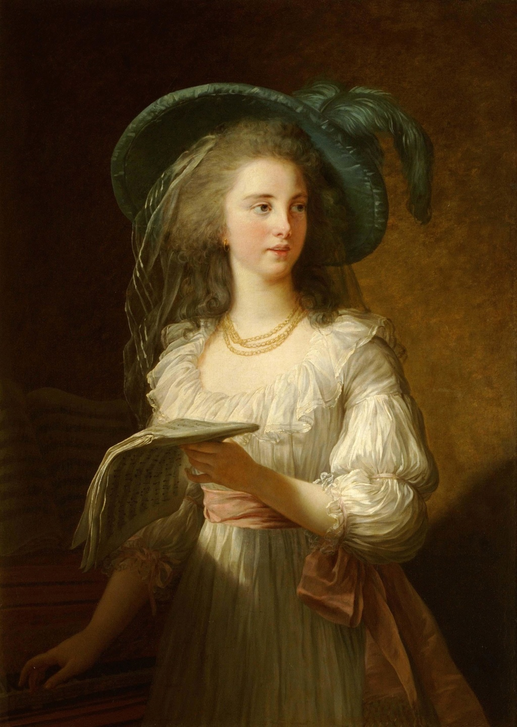 Portraits de Madame de Polignac par Vigée-Lebrun Gabrie10