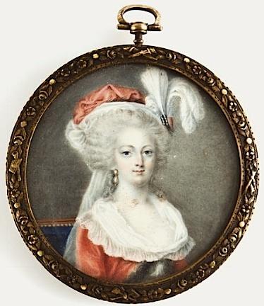 Marie-Antoinette en robe rouge sans ses enfants - Page 2 Minatu10