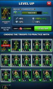 Come addestrare le truppe Levelt10