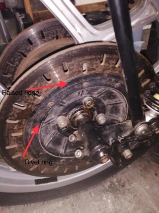 Brake rotor configuration puzzle A0c7f410