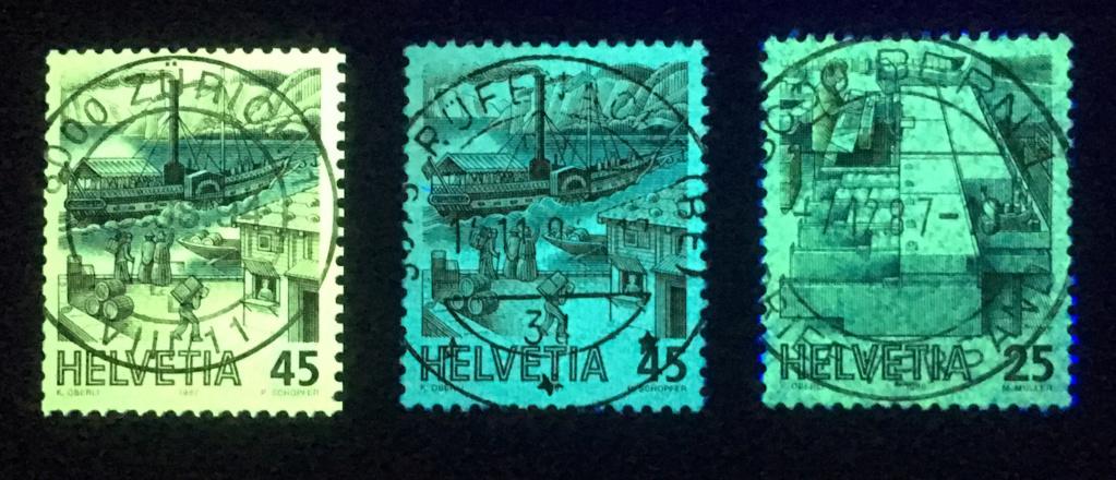 Postbeförderung 45 Rp. (Zst. 737) fluoreszierend?? Img_3918