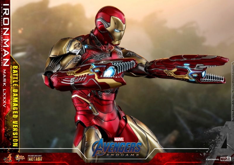 AVENGERS END GAME -  IRON MAN MARK LXXXV BATTLE DAMAGE VERSION - 66705610