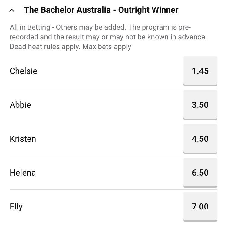 Bachelor Australia - Matt Agnew - Season 7 - Betting Odds - *Sleuthing Spoilers* - Page 17 Img_7410