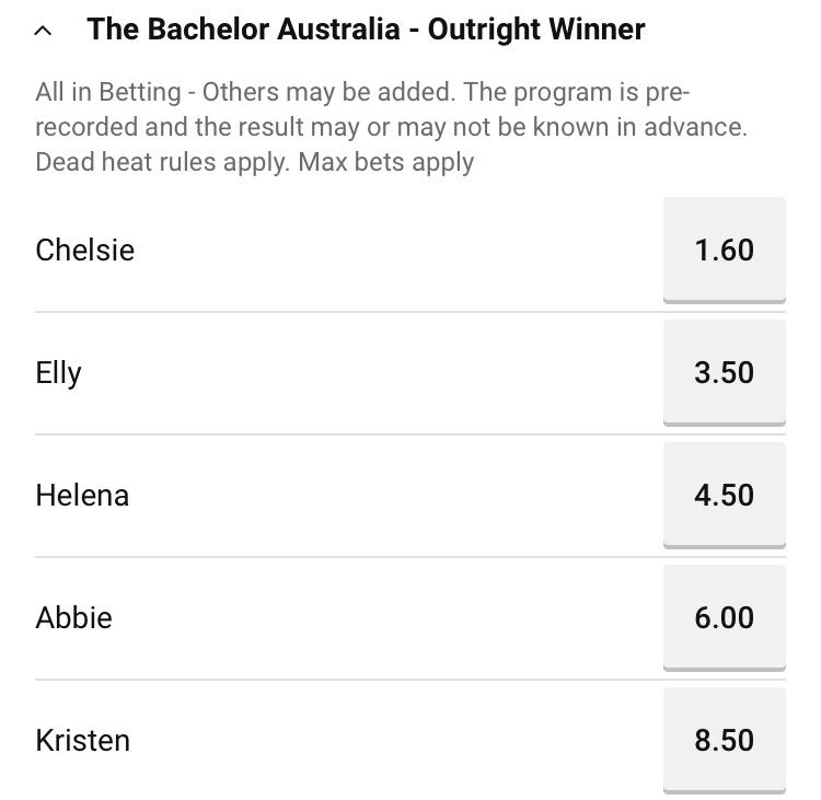 Bachelor Australia - Matt Agnew - Season 7 - Betting Odds - *Sleuthing Spoilers* - Page 17 Img_7411