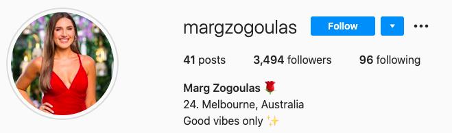 Bachelor Australia - Locky Gilbert - Season 8 - Marg Zogoulas - *Sleuthing Spoilers* - Page 2 Screen43