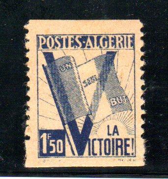 timbre de 1943 Algeri10