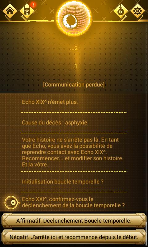 Chroniric, une uchronie interactive sur mobile Screen10