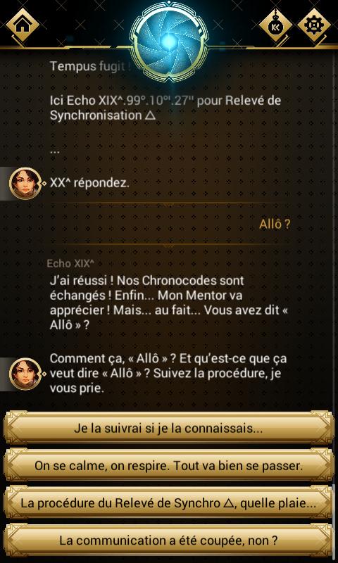 Chroniric, une uchronie interactive sur mobile Screen11