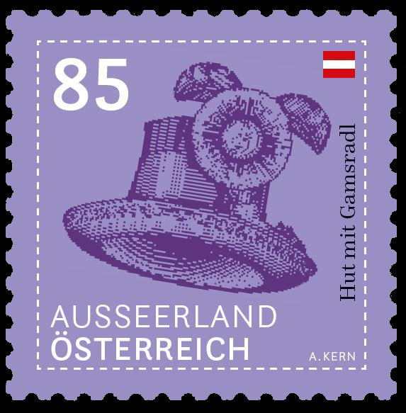 """trachten - Dauermarken Serie """"Trachten – Beiwerk und Auszier"""" 085_au10"""