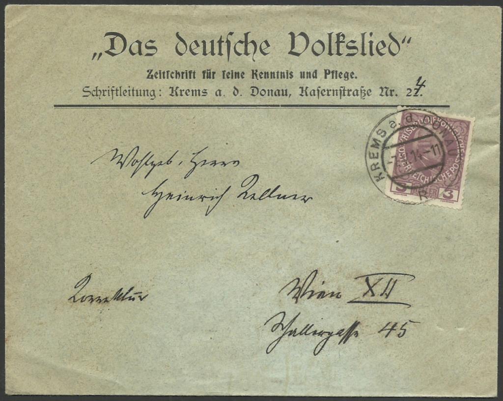 Die Freimarkenausgabe 1908 - Seite 3 19140510