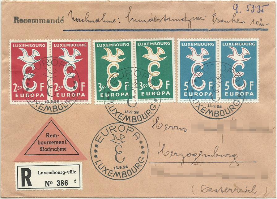 Abonnentenbriefe Luxemburg 1958_910