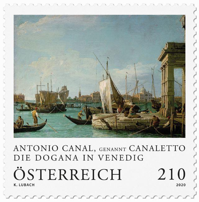 Österr. NEU: Serie Alte Meister - Canaletto 1_cana10