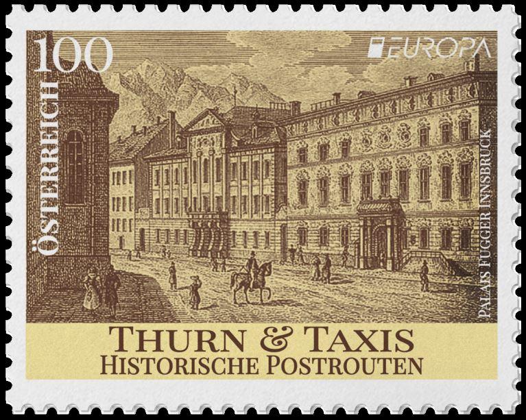Österr. NEU: Europa 2020 – Historische Postrouten 1_euro10