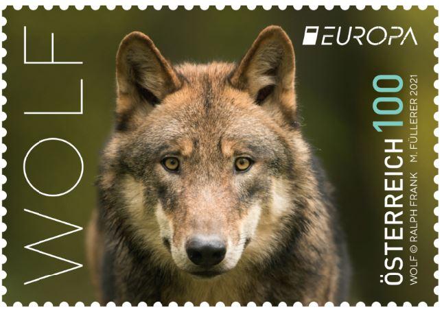 Österr. NEU: EUROPA 2021 – Wolf 1_euro12