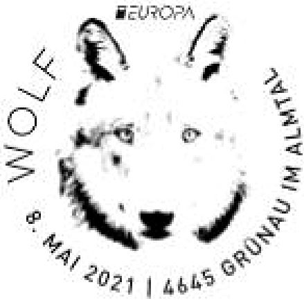 Österr. NEU: EUROPA 2021 – Wolf 1_euro13