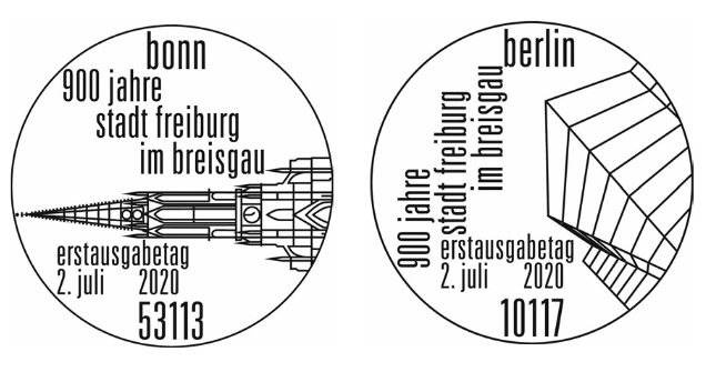 Deutschland - Neuausgaben 2020 Deutschland 1_frei11