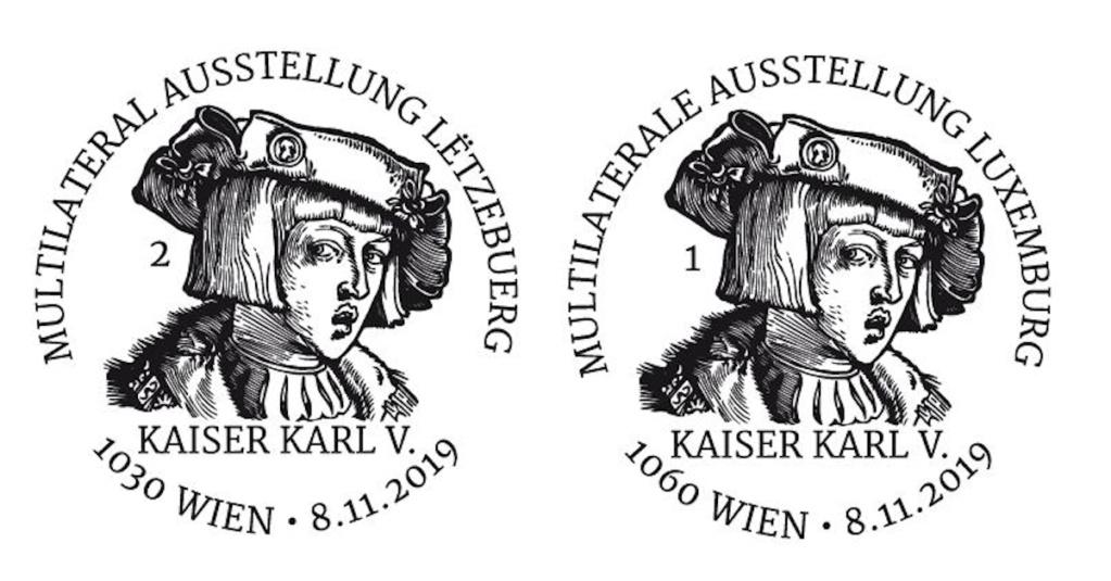 Österr. NEU: Blockausgabe GA Luxemburg – Kaiser Karl V. 1_karl11