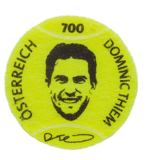 Österr. NEU! Tennisball – Dominic Thiem 1_tenn10