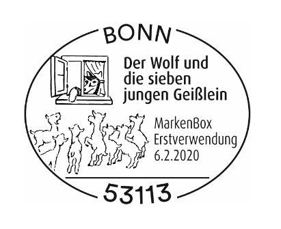 Deutschland - Neuausgaben 2020 Deutschland 1_wolf12