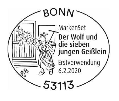 Deutschland - Neuausgaben 2020 Deutschland 1_wolf13
