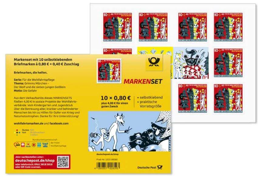 Deutschland - Neuausgaben 2020 Deutschland 1_wolf18
