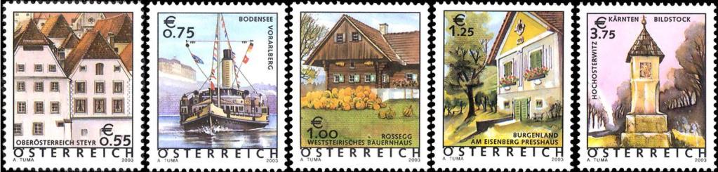 Ferienland Österreich - Dauermarkenserie 20030510