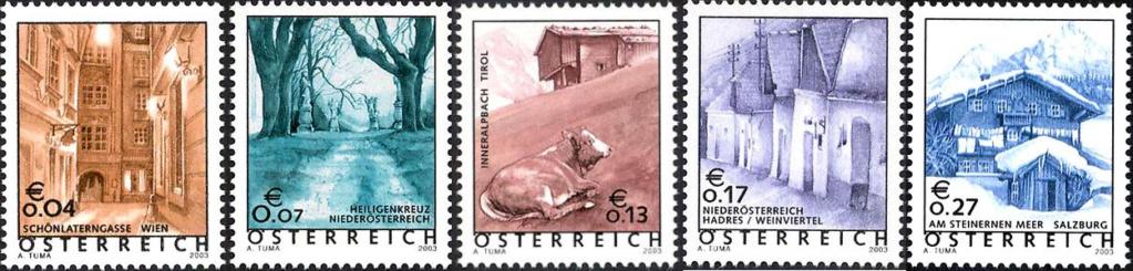 Ferienland Österreich - Dauermarkenserie 20030610