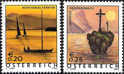 Ferienland Österreich - Dauermarkenserie 20030710