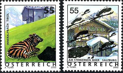 Ferienland Österreich - Dauermarkenserie 20050110