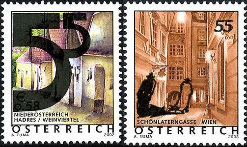 Ferienland Österreich - Dauermarkenserie 20050210