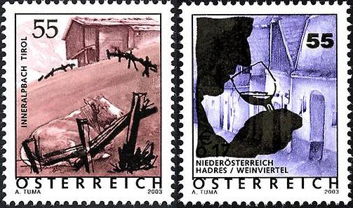 Ferienland Österreich - Dauermarkenserie 20050211