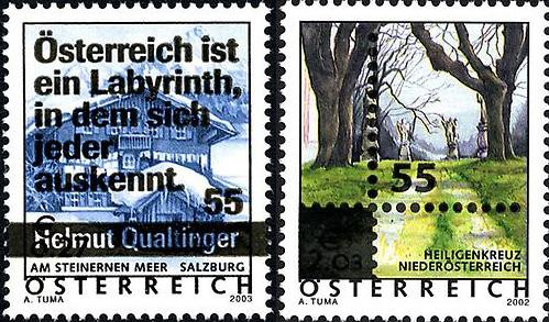 Ferienland Österreich - Dauermarkenserie 20050212
