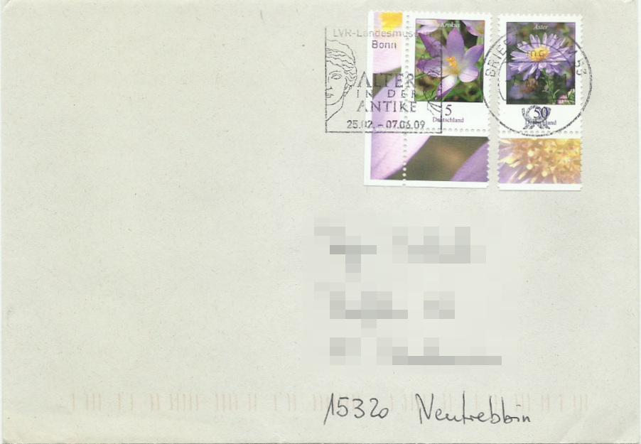 Dauerserie Blumen - Belege 2463_010