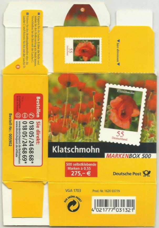 Dauerserie Blumen - Belege 2477_011