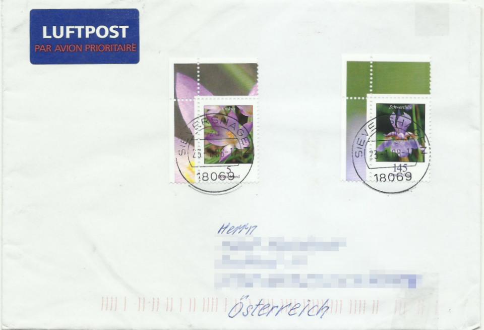 Dauerserie Blumen - Belege 2480_010