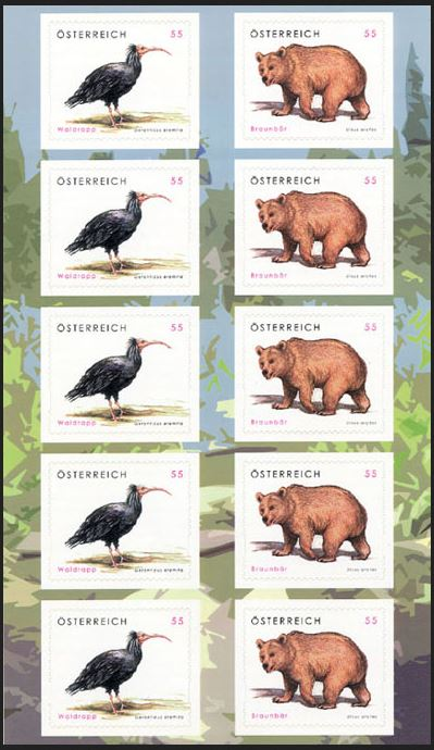 """Freimarkenserie """"Tierschutz"""" 2650_210"""