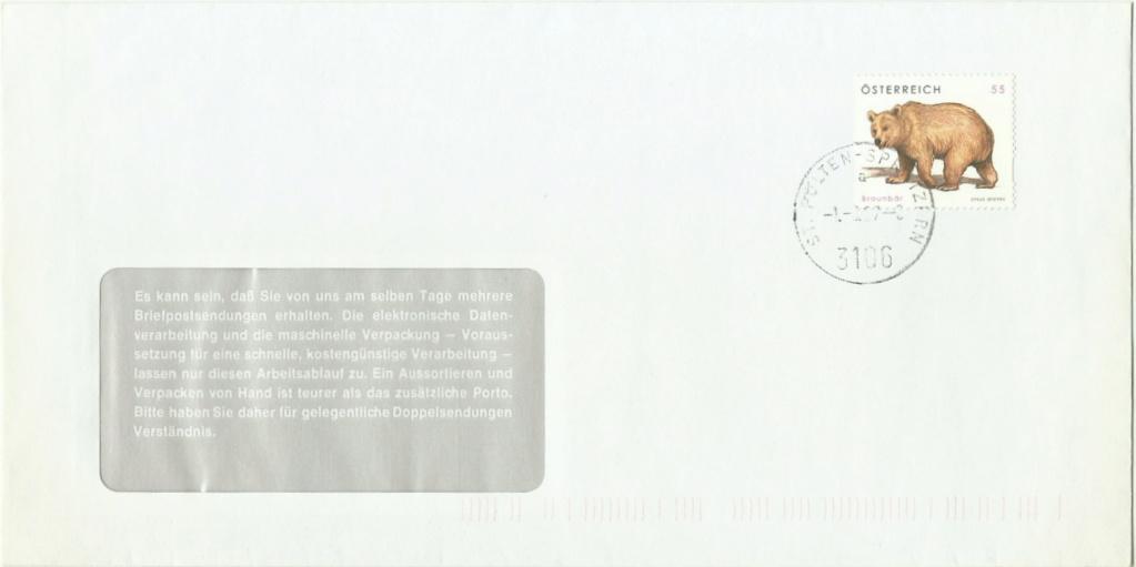 """Freimarkenserie """"Tierschutz"""" 2651_b10"""