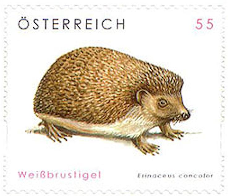 """Freimarkenserie """"Tierschutz"""" 2758_m10"""