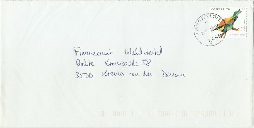 """Freimarkenserie """"Tierschutz"""" 2848_b10"""