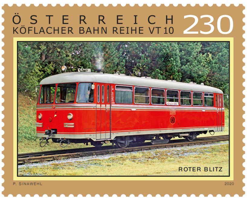 Roter Blitz – Graz – Köflacher Bahn Reihe VT 10 2_blit10