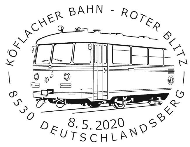 Roter Blitz – Graz – Köflacher Bahn Reihe VT 10 2_blit11